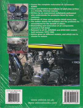 How to Restore Kawasaki Z1, Z/KZ900 & Z/KZ1000 (Restoration Guide by Chris Rooke) (9781787111585)
