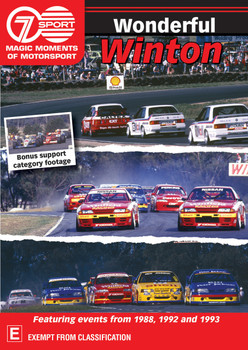Wonderful Winton Three classic events from the 'action track' of Australia