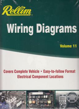 Rellim Wiring Diagrams Volume 11 (RERW11) (9781876953799)