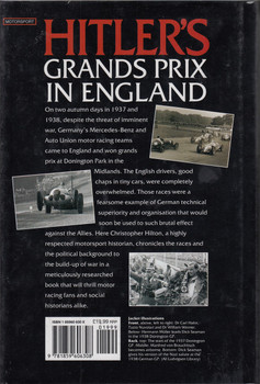 Hitler's Grands Prix in England: Donington 1937 and 1938 (1999 by Christopher Hilton) (9781859604533)
