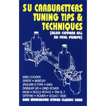 SU Carburetters Tuning Tips & Techniques (Also Covers All SU Fuel Pumps) (9781855202559)