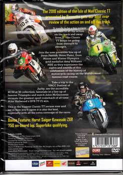 Classic TT Isle of Man 2018 Official Review DVD (5017559131388)