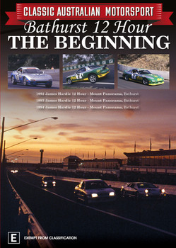 Classic Australian Motorsport - Bathurst 12 Hour The Beginning 1992 / 1993 / 1994 DVD