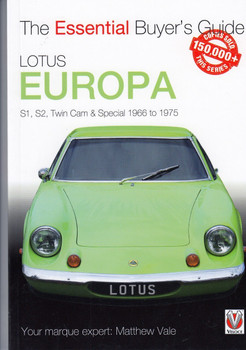 Lotus Europa: S1, S2, Twin-cam & Special 1966 to 1975- The Essential Buyer's Guide (9781787112872)