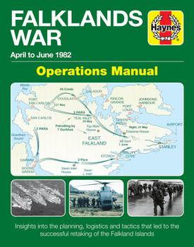 The Falklands War April to June 1982 Operations Manual (9781785211850)