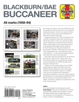 Blackburn Buccaneer All Marks 1958-94 Owners' Workshop Manual