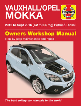 Vauxhall / Opel Mokka Petrol & Diesel 2012 - Sept 2016 Workshop Manual (9781785214134)