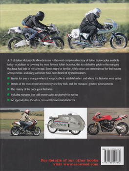 A-Z of Italian Motorcycle Manufacturers (Greg Pullen) (9781785004872)