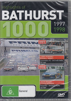 Highlights of Bathurst 1000 1997 1998 DVD (9398710613292)