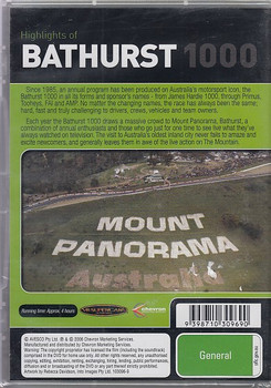 Highlights of Bathurst 1000 2001 DVD (9398710309690)