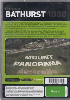 Highlights of Bathurst 1000 1999 2000 DVD (9398710613391)