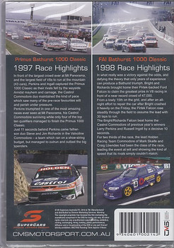 Primus 1000 Classic 1997 Race Highlights 1997 , FAI Bathurst 1000 Classic Race Highlights 1998 DVD