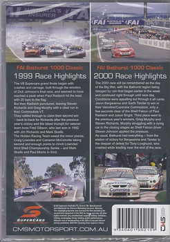 AI 1000 Classic Mt Panorama Bathurst 1999 Highlights, FAI 1000 Mt. Panorama Bathurst 2000 Highlights DVD (9340601002159)