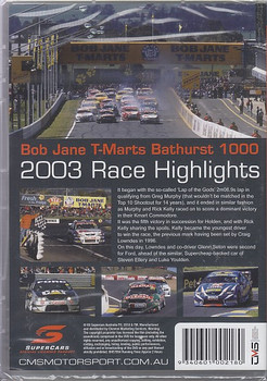 Bob Jane T-Marts Bathurst 1000 20023 Race Highlights DVD (9340601002180)