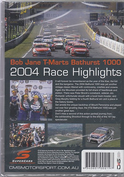 Bob Jane T-Marts Bathurst 1000 2004 Race Highlights DVD