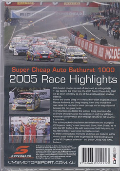Supercheap Auto Bathurst 1000 2005 Race Highlights (9340601002203)