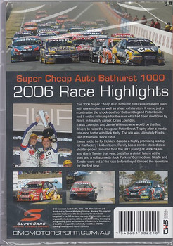 Supercheap Auto Bathurst 1000 2006 Race Highlights (9340601002210)