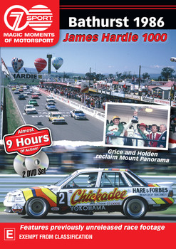 Magic Moments of Motorsport - Bathurst 1986 - James Hardie 1000 DVD (9340601002098)