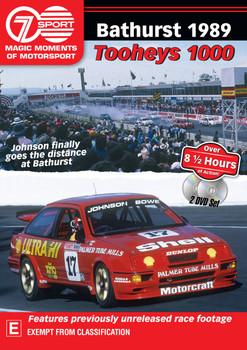 Magic Moments of Motorsport - Bathurst 1989 - James Hardie 1000 DVD (9340601002128)