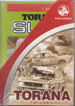 Holden Torana Trilogy Special Limited Edition Release 3 DVD Set (9398710437393)