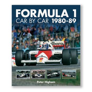Formula 1 Car by Car 1980 - 1989 (9781910505236)