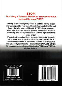 Triumph TR4/4A TR5/250 All Models 1961 - 1968 The Essential Buyer's Guide (9781787112858)