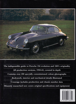 Original Porsche 356 (reissue): The Restorer's Guide (Laurence Meredith) (9781906133849)