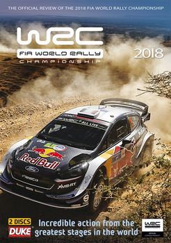 WRC FIA World Rally Championship 2018 DVD