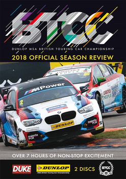 BTCC 2018 Official Season Review (2 Disc) 468 Mins DVD (5017559131371)