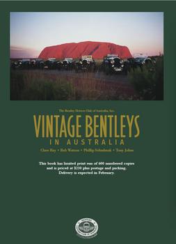 Vintage Bentleys in Australia - The Bentley Drivers Club of Australia, Inc.