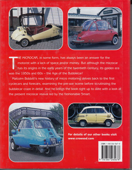 Bubblecars and Microcars (Hardcover) by Malcolm Bobbit (9781861265678)