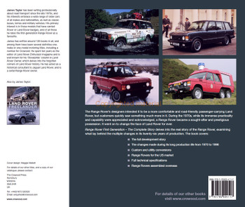Range Rover First Generation - The Complete Story