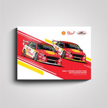 Shell V-Power Racing Team 2018 Season Review Collectors Book (9781922269010)