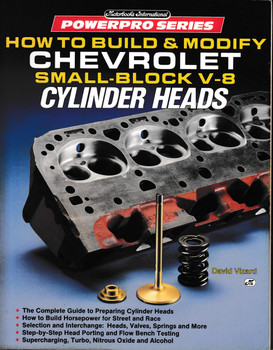 How to Build & Modify Chevrolet Small-Block V-8 Cylinder Heads (David Vizard) (9780879385477)