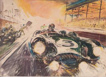 Castrol Motor Oil Achievements 1955