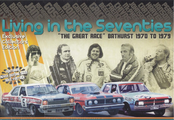 "Living In The Seventies ""The Great Race"" Bathurst 1970 - 1979 6 DVD Box Set DVD (Exclusive Collectors Edition) (9340601001596)"
