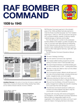 RAF Bomber Command 1939 to 1945 Haynes Operations Manual (9781785211928)