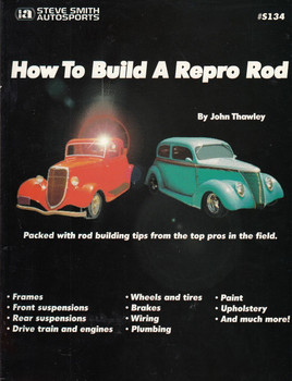 How to Build a Repro Rod Paperback –(1982 by John Thawley) (9780936834344)