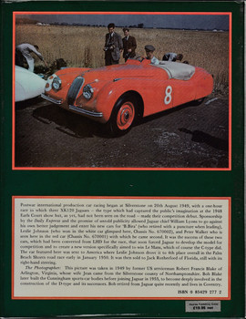 Jaguar Sports Racing and Works Competition Cars to 1953 (1982, by Andrew Whyte) (9780854292776)