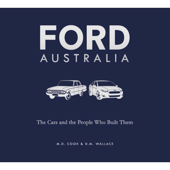 ord Australia - The Cars and the People That Built Them (paperback) (9781742579214)