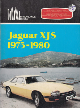 Jaguar XJS 1975 - 1980 (Brooklands Books, paperback 1981)