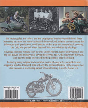 Motorcycles and Motorcycling in the USSR from 1939 – a Social and Technical History (Colin Turbett) (9781787113145)