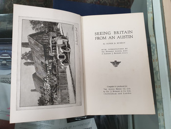 Seeing Britain from an Austin (Alison D Murray)