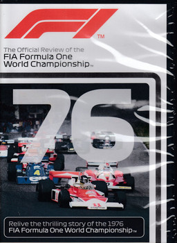Formula One 1976 The Official Review of the FIA Formula One World Championship DVD