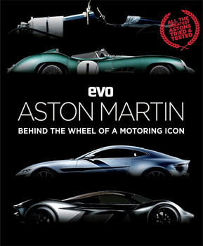 EVO Aston Martin Behind the Wheel of a Motoring Icon (evo Magazine)