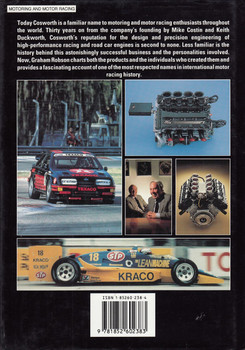 Cosworth The Search for Power (Graham Robson, 1990 1st Edition) (9781852602383)