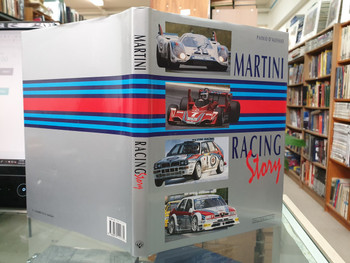 Martini Racing Story (Italian & English text, Hardcover, Paolo D'Alessio) (9788879111775)