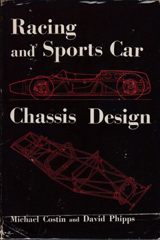 Racing and Sports Car Chassis Design (Hardcover, Michael Costin 1965) (9780837602967)