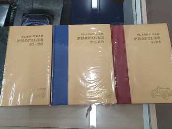 Profile Publications - Complete Set of 96 Books - Classic Car Profiles 1-96 ( Bound 3 Volume Set)