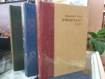 Profile Publications - Complete Set of 96 Books - Classic Car Profiles 1-96 ( Bound 3 Volume Set)